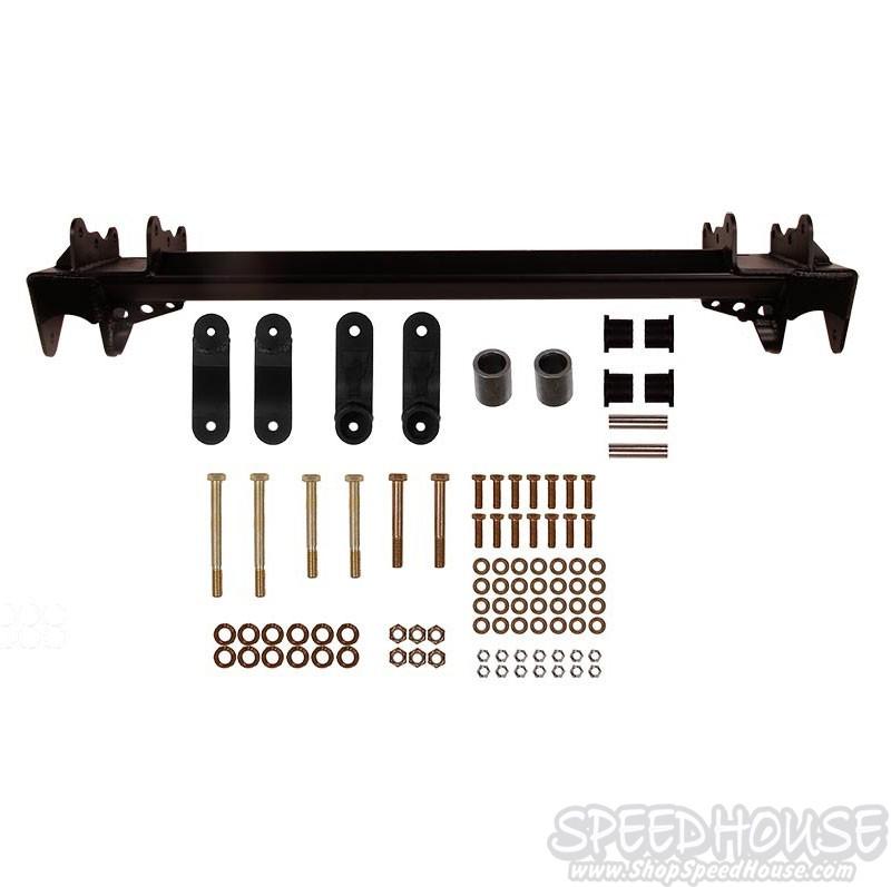 Solid Axle Swap Kit Brackets 36 5 in Centers for 00-07 Silverado / Sierra 8  Lug