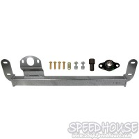 BD Diesel 1032005 Steering Box Brace for 03-08 Dodge 2500/3500 4x4 Pickups with 4 bolt cover