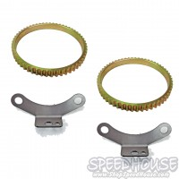 78-91 Ford Dana 60 ABS Kit with Tone Rings and Sensor Mounts for GM HD Brakes