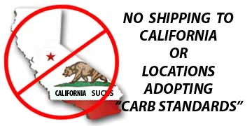 No Shipping to Commifornia